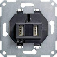 Gira 235900 USB-Spannungsversorgung 2fach Einsatz System 55 ( Q30031 )