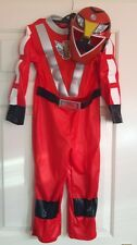 Power Rangers red costume, complete outfit with mask, age 5 - 6 years