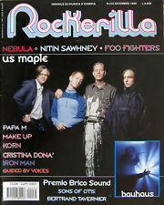 ROCKERILLA 232 1999 US Maple Nebula Foo Fighters Nitin Sawhney Sons Otis Make Up