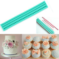Pearl Chain Silicone Fondant Mould Cake Decorating Baking Mold Sugarcraft Tool