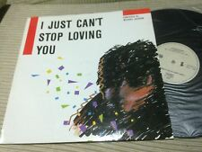 "I JUST CAN'T STOP LOVING YOU 12"" MAXI SPAIN 87 SYNTH POP ITALO MICHAEL JACKSON"