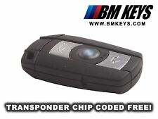 BMW BLANK KEY REMOTE FOB E90 E60 1 SERIES X5 M3 M5 VIRGIN TRANSPONDER CODED FREE
