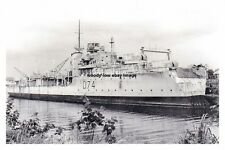 rp14807 - Royal Navy Warship - HMS Hogue , built 1945 - photo 6x4