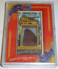 2010 Topps Allen & Ginter Carcharodontosaurus Dinosaur Relic Tooth 1/1 Monsters