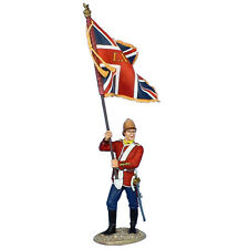 MB073 British 80th Foot Standard Beraer - Queen's Colors by First Legion