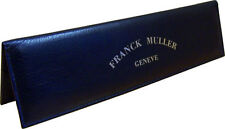 Authentic Franck Muller Long Leather Wallet Document Warranty Certificate Holder