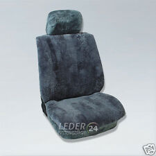 Sheepskin Car Seat Cover Seat Cover Relative Lambskin Mercedes w124 Anthracite