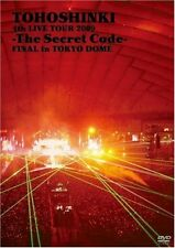 New TVXQ TOHOSHINKI 4th LIVE TOUR 2009 The Secret Code FINAL Tokyo 2 DVD Japan