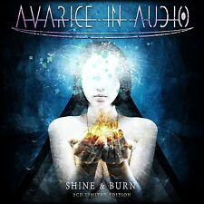 AVARICE IN AUDIO Shine & Burn LIMITED 2CD BOX 2014