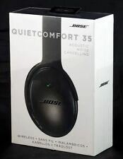 BOSE QC35 Quiet Comfort 35 Black Wireless Noise Cancelling NEW SEALED GENUINE