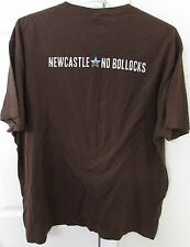 Newcastle Brown Ale No Bollocks Shirt XL Brown EUC