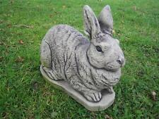 Ears up rabbit stone garden ornament | Many more ornaments in my shop!