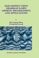 Data Mining Using Grammar Based Genetic Programming and Applications-ExLibrary