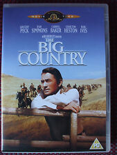 The Big Country DVD.Gregory Peck,Charlton Heston,Burl Ives.Disc Is In VGC.