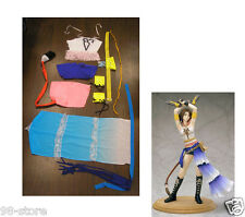 Lot of 2pcs Halloween Complete Gunner Yuna Costume Cosplay Final Fantasy X2
