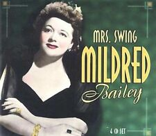 Mrs. Swing [Box] by Mildred Bailey (CD, Apr-2003, 4 Discs, Properbox)