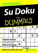 Su Doku For Dummies by Andrew Heron, Edmund James (Paperback, 2005)