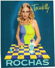 PUBLICITE  1997   ROCHAS  parfum TOCADILLY