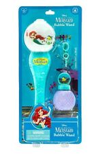 Ariel Glow Bubble Wand Toy The Little Mermaid Disney World Theme Parks NEW