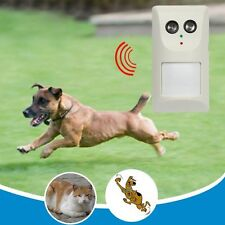 US Plug Ultrasonic Cat Dog Repeller Repellent Anti Stop Bark Device Aggressive
