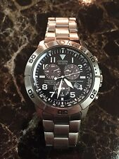 Citizen Eco Drive Perpetual Calendar Chronograph Titanium Men's Watch BL5250-53L