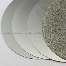 """4pcs/set 6"""" Grit 60# 600# 1500# 2000# Flat Lap Wheel Lapping Grinding Disc Tool"""