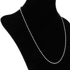 "21"" Stainless Steel Ball Chain Necklace 3mm Bead Cheap"
