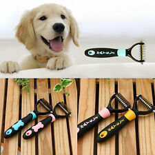 Dematting Aseo Deshedding Trimmer Peine Cepillo Rastrillo por Perro Mascota Gato