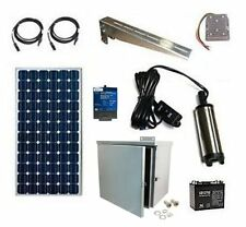 Submersible Water Pump Kit - Solar Powered Well or Pond Water Pump System