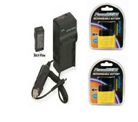 2 BP-718 Batteries + CG-700 Charger for Canon HF M50 M52 M56 M500 R30 R32 R300