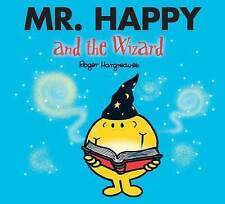 """Mr. Happy and the Wizard (Sparkly Mr. Men Stories) Roger Hargreaves """"AS NEW"""" Boo"""