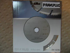 RAWLPLUG Diamond Cutting Disc Sintered EN13236 230mm 22,23 6600RPM
