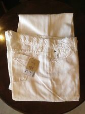 James Cured by Seun cream womens trousers 30' 36L
