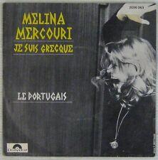 Mélina Mercouri 45 Tours 1970