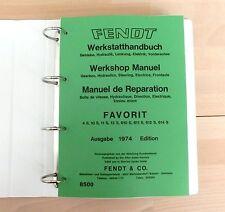 Fendt Favorit 612 S  Werkstatthandbuch Reparaturanleitung