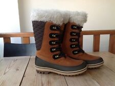 NEW! HELLY HANSEN WOMEN'S GARIBALDI SNOW BOOTS UK SIZE 7 BROWN