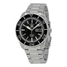 Seiko 5 Black Dial Automatic Mens Watch SNZH55