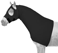 Small black fleece lined mane stay/sleazy hood Horse Tough 1 New