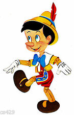 """7"""" DISNEY PINOCCHIO VINTAGE PREPASTED WALL BORDER CUT OUT"""