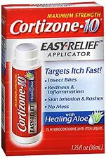 3 Pack Cortizone 10 Hydrocortisone Anti-Itch Easy Relief Applicator 1.25oz Each