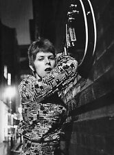 BOWIE ZIGGY STARDUST MINI LAMINATED A4  POSTER HEDDON STREET style 11