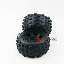 24mm hex Off Road Knobby Rear Tire for Rovan HPI Baja 5B King Motor Buggy