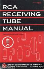 """HUGE""  27 EACH  RCA Manuals for Transmitting & Receiving w RCA Radio Course CD"
