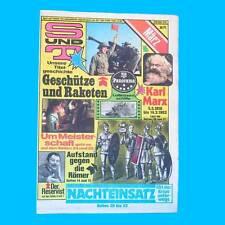 S und T 3/1983 | Magdeburg Rügen | DDR-Zeitschrift GST NVA Sport Technik V
