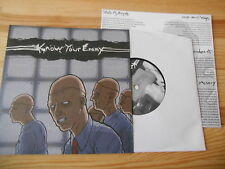 """7"""" punk Know Your Enemy-same (6) canzone Crucial response SXE"""