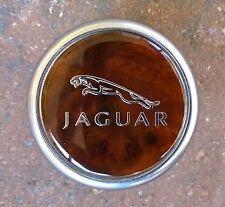 Jaguar Emblem Topper for Gear Shift Knob XF,XFR,XJ,XK Walnut Burl Rotary Control
