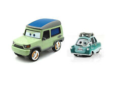Disney Pixar Movie Cars Diecast Miles Axlerod & Bad Professor Z Loose