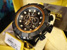 Invicta 16950 Reserve S1 Grand Speedway Black/Gold Chrono S/S Bracelet Watch NEW