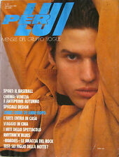 PER LUI 30 1985 Mike Hill James Dean Daniele Masala Tex Moda 80s Fashion Vintage