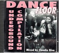 Claudio Diva-Dance Floor (Underground Compilation) Cd Sealed Progressive House
